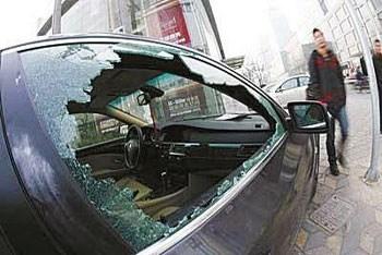 岁末年关 车辆防砸防盗必备应急手册
