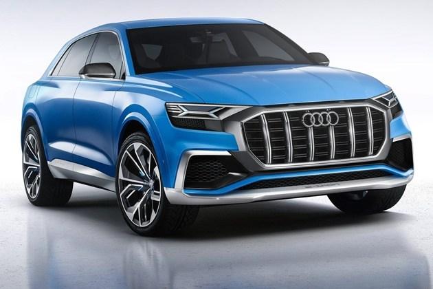 奥迪Q8概念车发布 未来家族旗舰SUV雏形