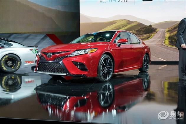 丰田全新凯美瑞发布 搭全新引擎/年内引入