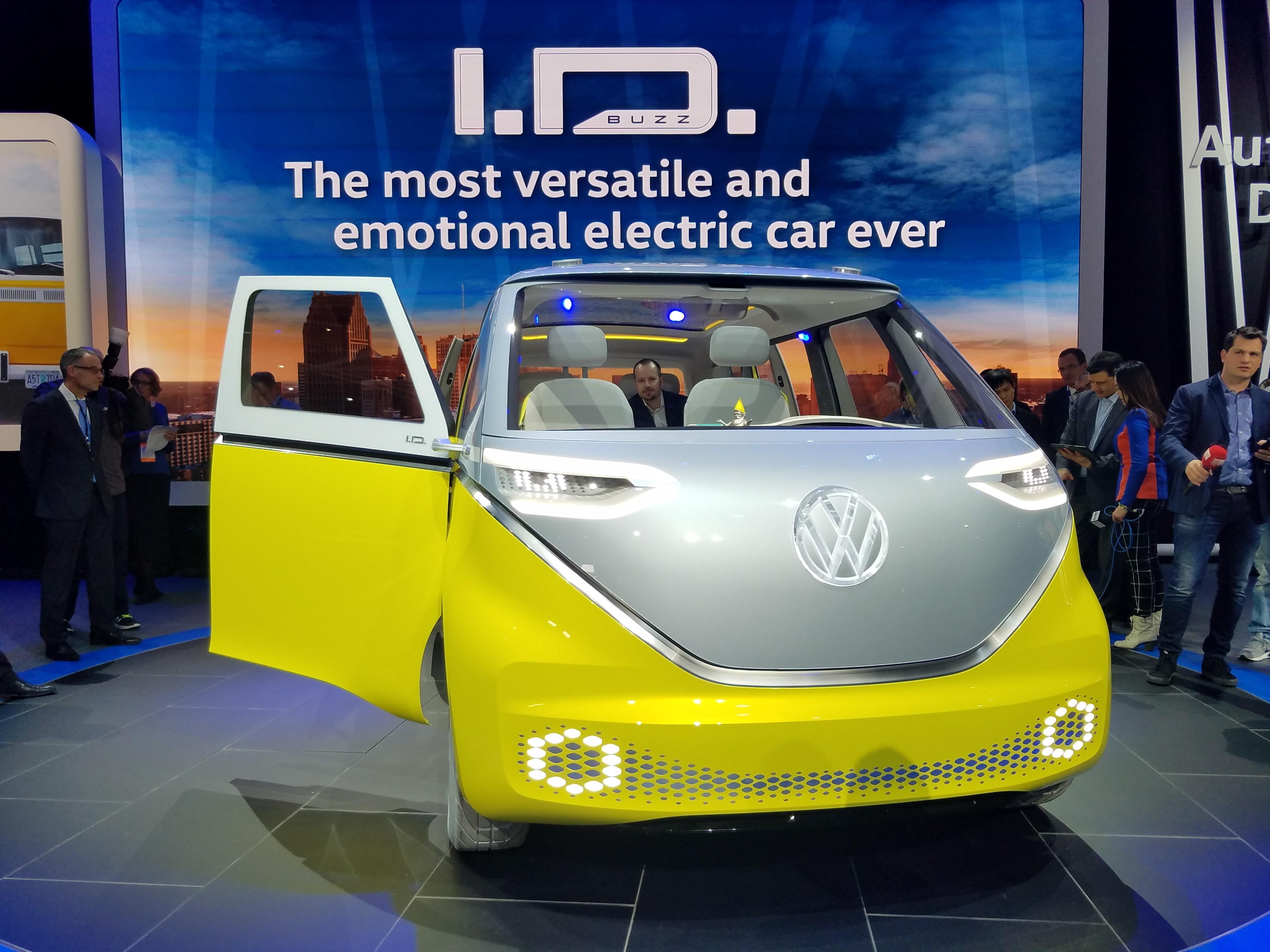 未来大众智能电动车长啥样? 最新答案在这