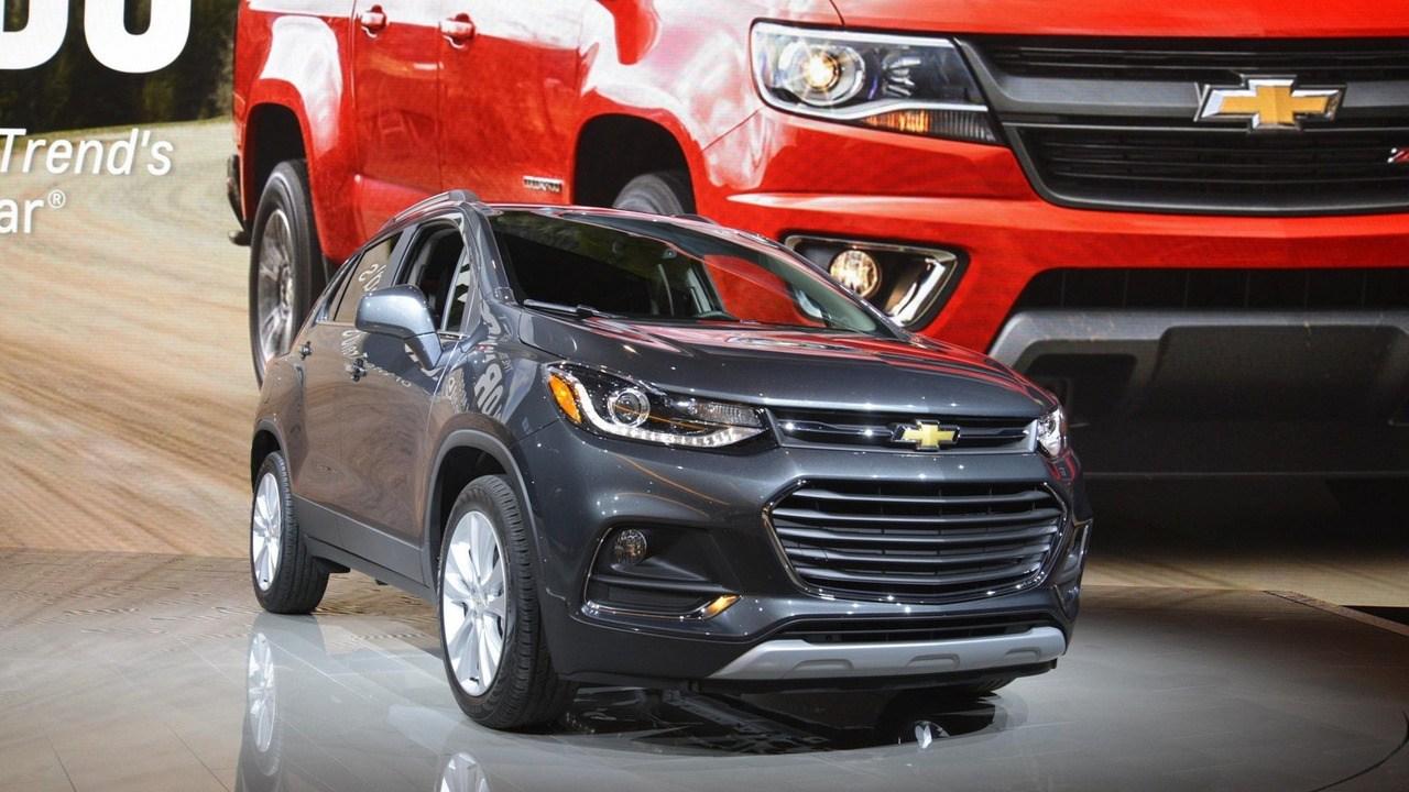 雪佛兰新款TRAX亮相芝加哥车展 配置丰富