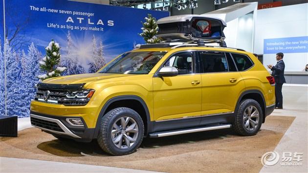 大众Atlas周末版在芝加哥车展首发