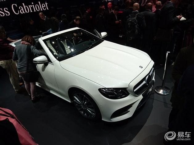 奔驰E级敞篷版正式发布 基于E级Coupe打造