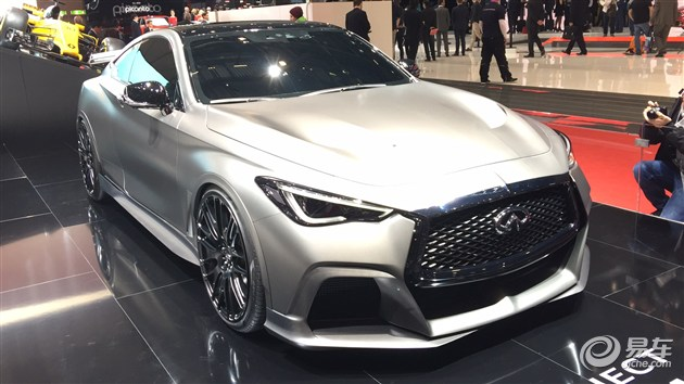 2017日内瓦车展:英菲尼迪Q60 Project Black S概念车发布