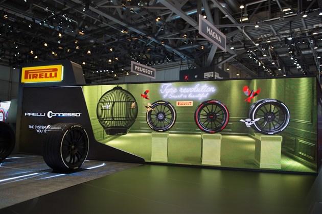 轮胎不仅能涂装还能智能监控 倍耐力的黑科技