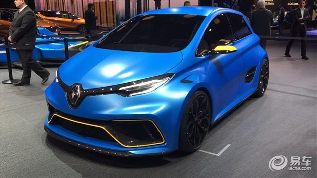 2017日内瓦车展:雷诺ZOE E-Sport Concept发布