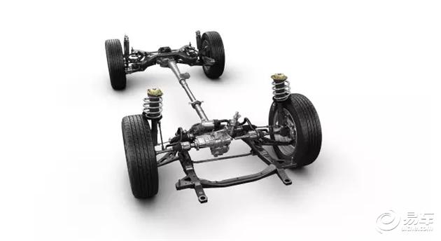 雪佛兰中级SUV探界者底盘设计解析