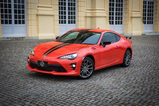 丰田发布86 860特别版车型  每种车身颜色限量860台