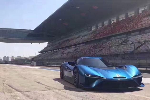 蔚来汽车EP9创上海赛车场单圈记录 上海车展正式亮相