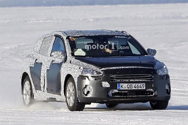 福特全新一代福克斯谍照曝光 预计年内发布 车身尺寸加大