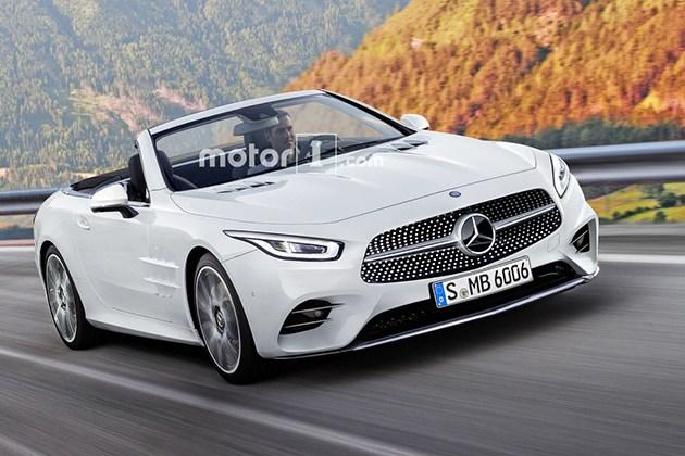 曝奔驰全新SL级假想图 AMG GT平台/或搭3.0T直6动力