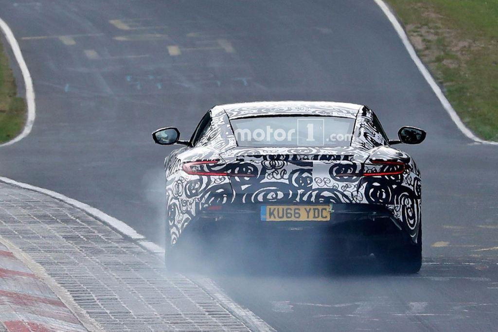 阿斯顿·马丁V8 Vantage谍照 或今秋发布