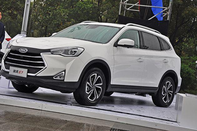 江淮瑞风S7图解 中型SUV擂台迎来新选手