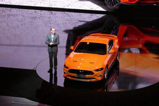 新款Mustang亮相福特之夜  高颜值平民跑车