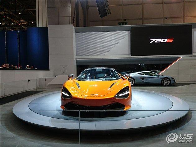 迈凯伦上海车展阵容曝光 720S/限量版570GT