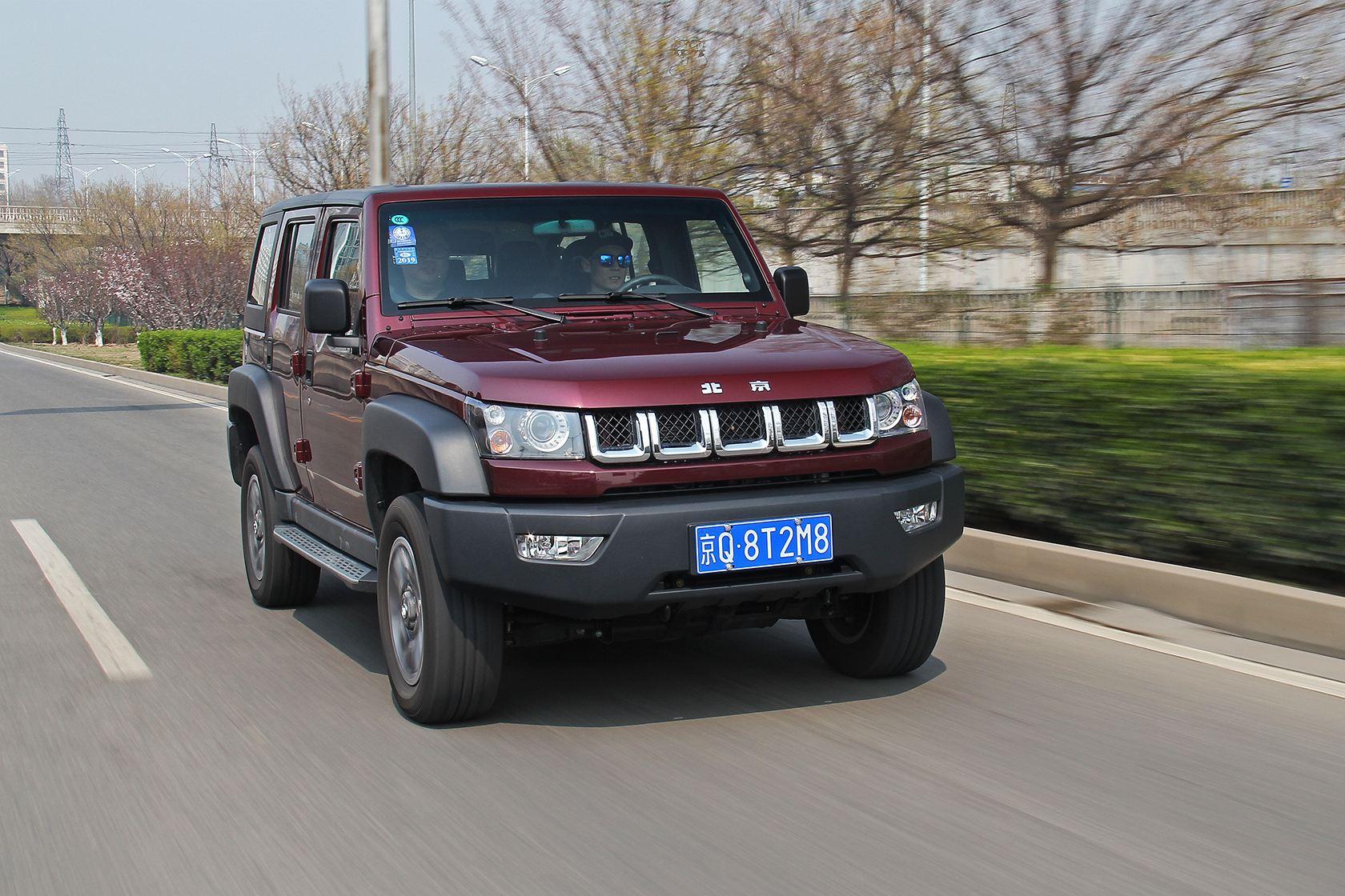 测北京汽车40L 底子过硬改装潜力大/顶配才17万