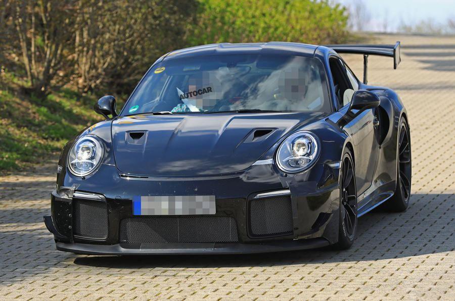 保时捷911 GT2 RS谍照 或达710马力/百公里加速2.5秒
