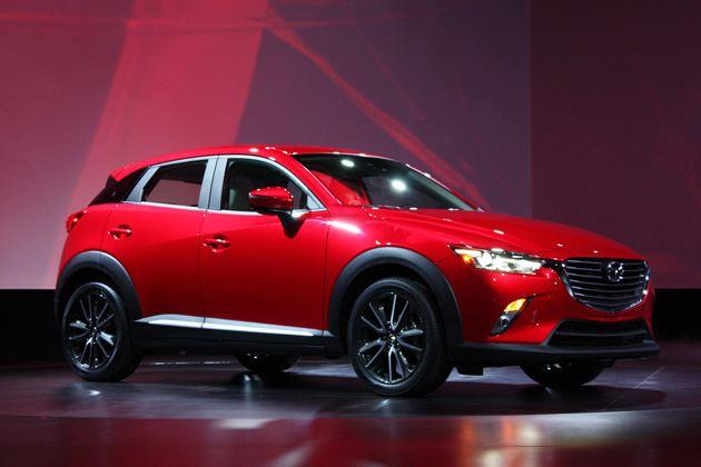 现在来还不算迟 马自达首款小型SUV CX-3新车图解