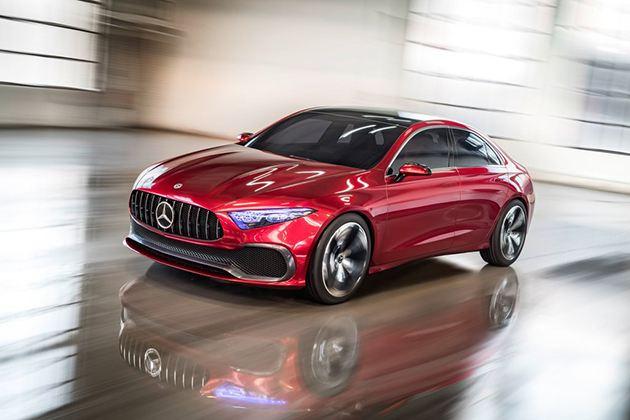奔驰Concept A Sedan官图发布 将于明年量产上市
