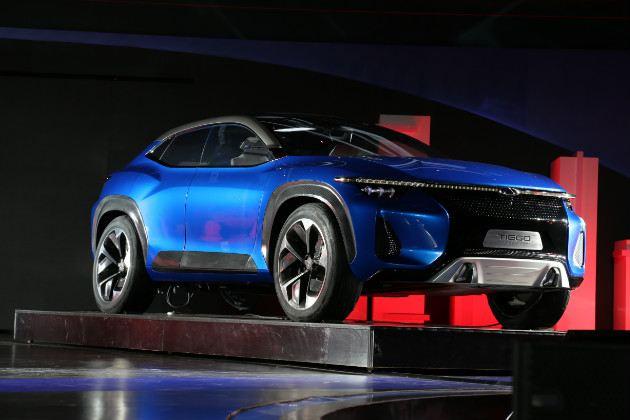 奇瑞全新瑞虎轿跑SUV概念车图解 触手可及的未来