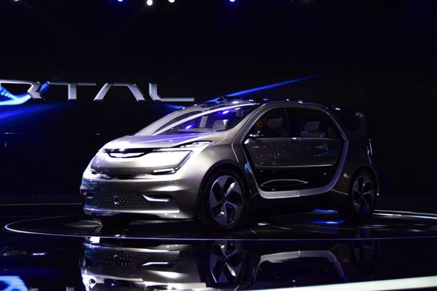 2017上海车展:克莱斯勒PORTAL概念车发布