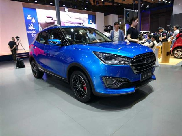 众泰全新小型SUV T300有望7月上市 竞争奔腾X40/瑞风S3