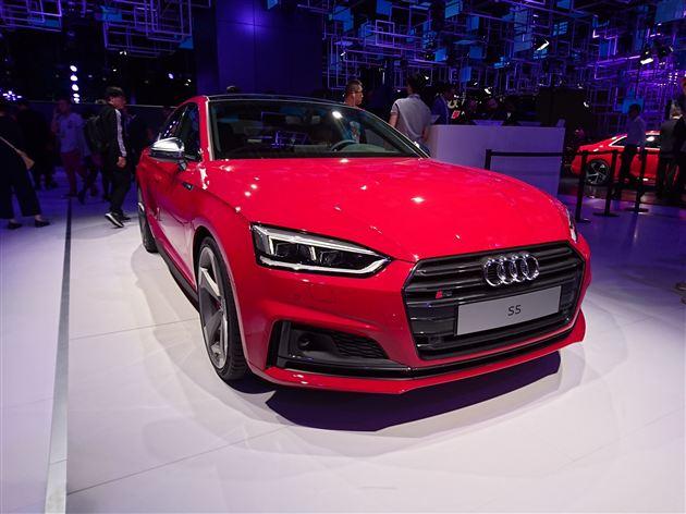 奥迪全新S5系列国内首发 搭3.0T发动机/百公里加速4.7秒