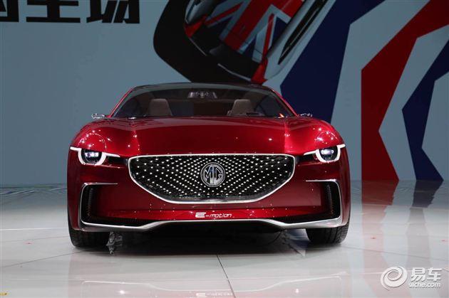名爵概念跑车E-motion上海车展全球首发