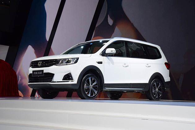 东风景逸X6上海车展发布 外形更加时尚