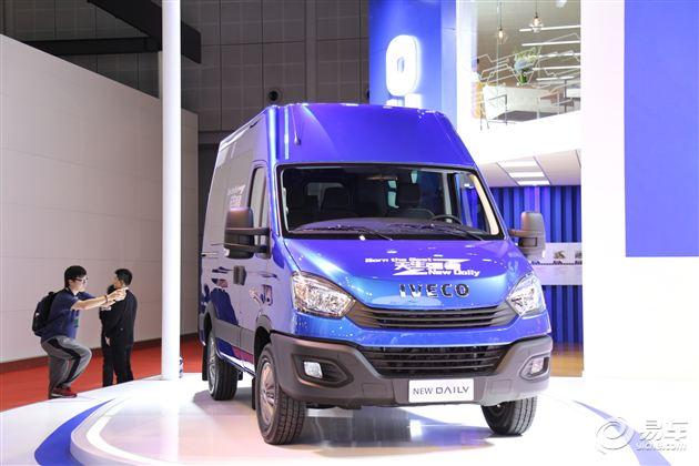 全新一代依维柯Daily亮相上海车展 下半年上市