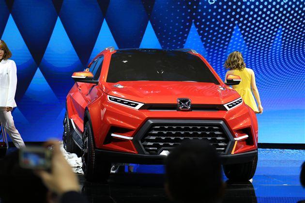 江铃驭胜发布旗下全新跨界概念车