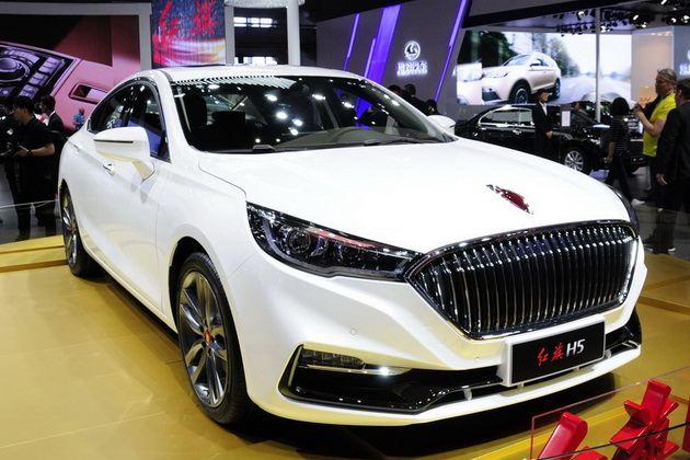 全新中级轿车红旗H5 上海车展首发