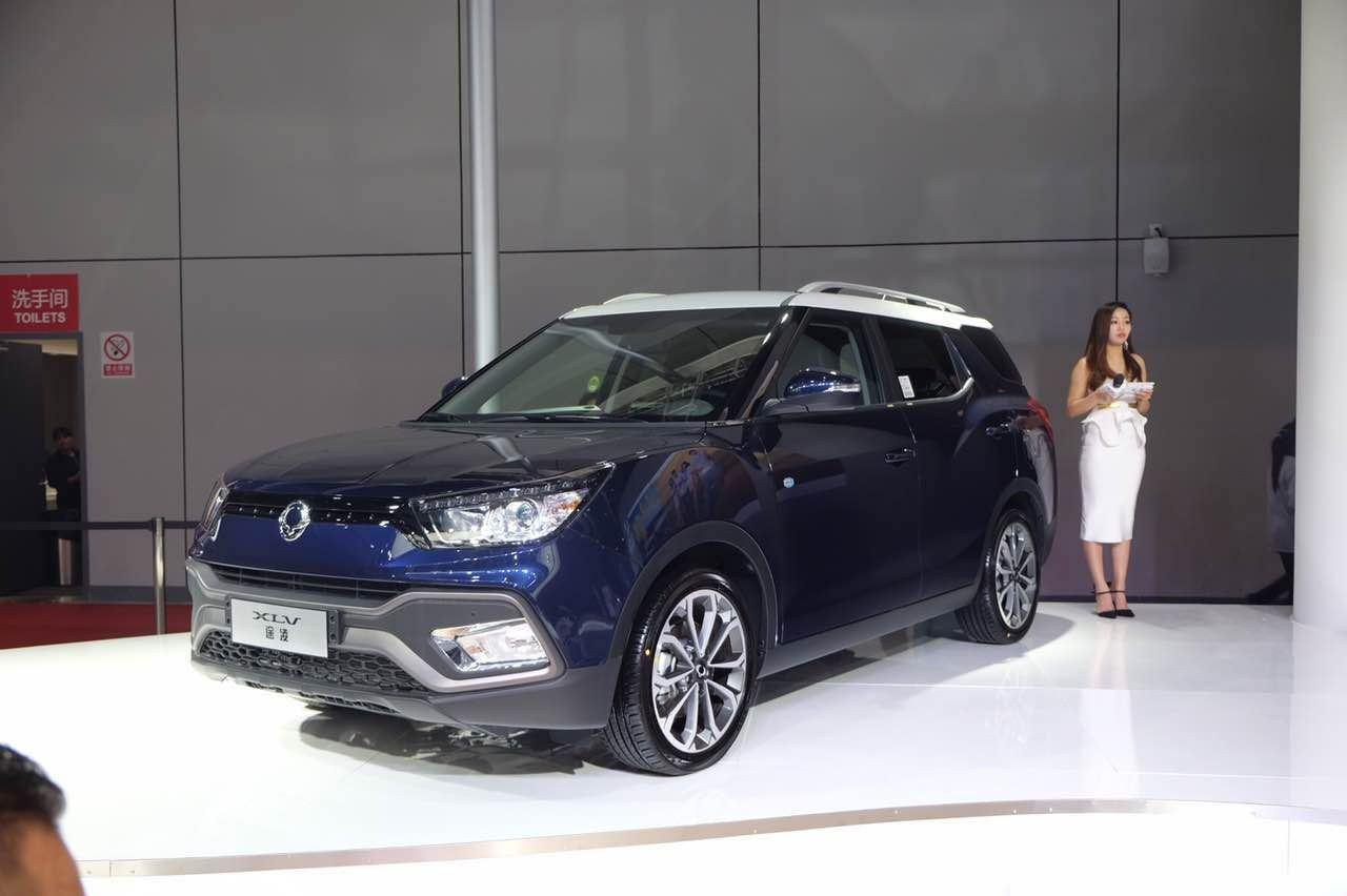双龙XLV途凌柴油版上市 售15.98-23.98万元