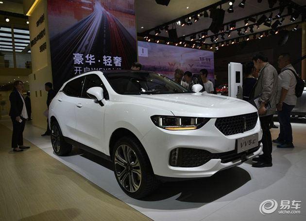 长城WEY品牌VV5上海车展亮相 定位紧凑SUV