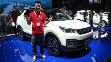 2017上海车展 旭子评长安CS55紧凑型SUV