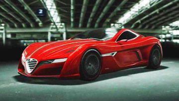 阿尔法罗密欧12C GTS概念车