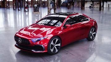 奔驰A级三厢版概念车发布