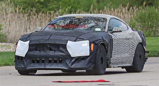 全新Mustang Shelby GT500谍照曝光 或北美车展亮相