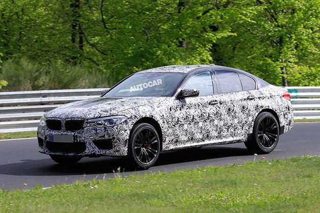 宝马全新M5将于8月发布 搭载4.4L双涡轮发动机
