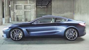 宝马新8系概念车发布 大型双门轿跑
