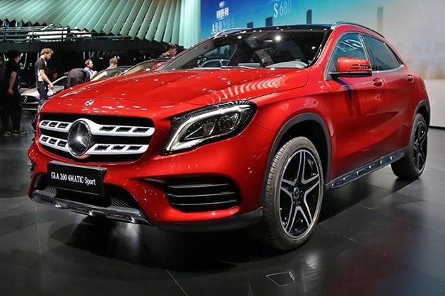 北京奔驰新款GLA上市 售价27.18-39.90万元 中期改款变在外观