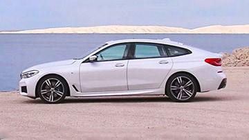 2018款宝马6系GT外观展示 轴距3070毫米