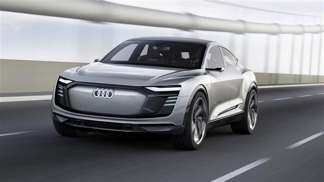 奥迪E-tron Sportback将量产 2019上海车展前发布