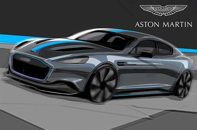 阿斯顿·马丁RapidE将于2019年量产 先期推出低排放车型