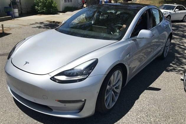 特斯拉MODEL 3将于7月7日下线 但2018年才能提车?
