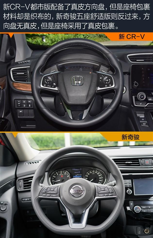 此外值得一提的是全新CR-V上还搭载了老款车型上就有的主动降噪技术,可以通过声波中和的原理降低噪声,提升驾乘舒适性,新CR-V都市版和新奇骏五座舒适版都支持方向盘四向调节。