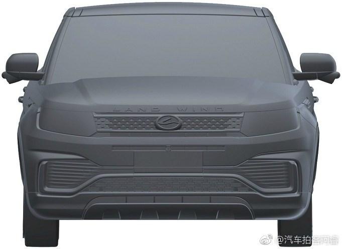 新款陆风X7专利申报图曝光 外观小改/贯穿式尾灯