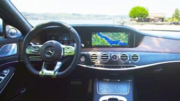 全新奔驰AMG S63内饰展示