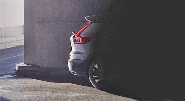 沃尔沃XC40预告片曝光 将于法兰克福车展正式亮相