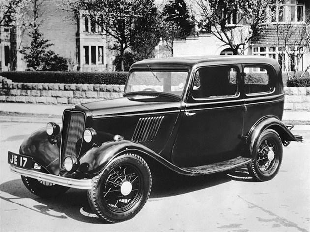 1932年的福特Model Y车型